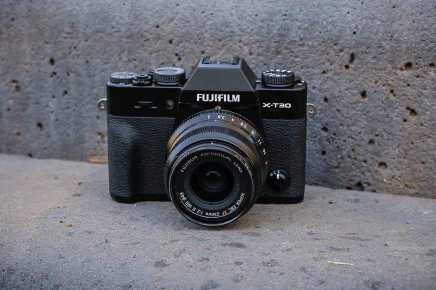 Fujifilm x-t30 best mirrorless camera