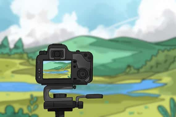 landscape photography camera