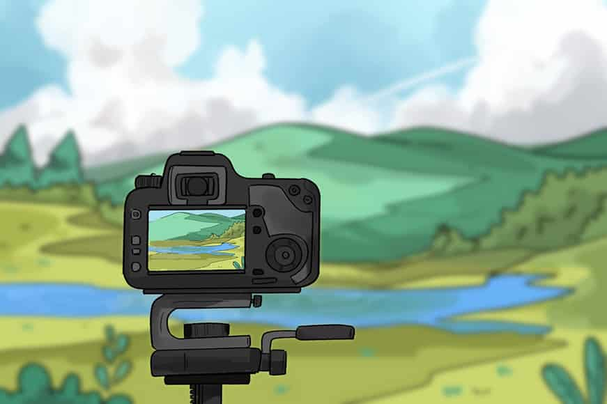 landscape photography camera