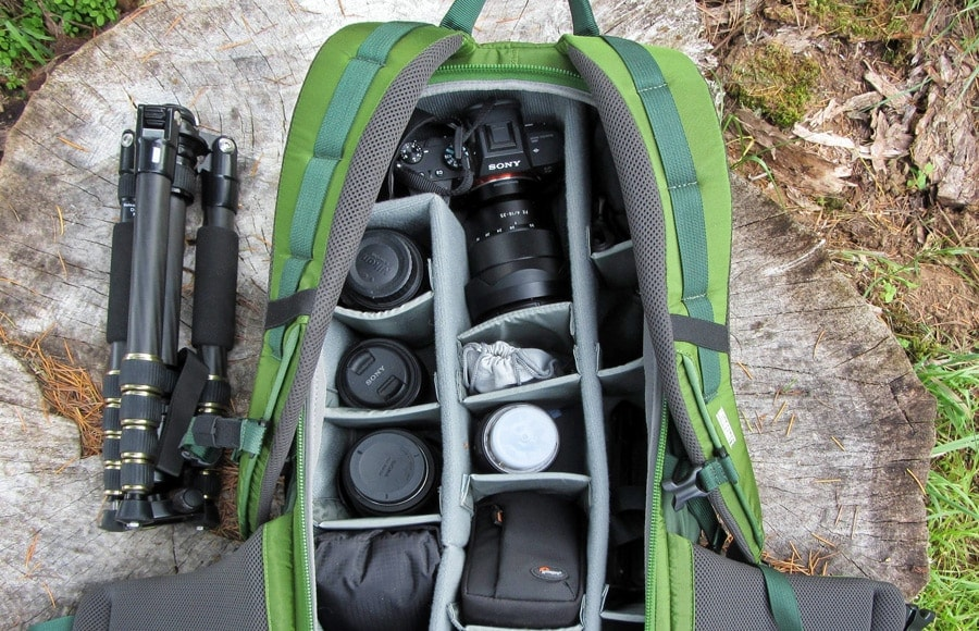 best camera bag for hikers