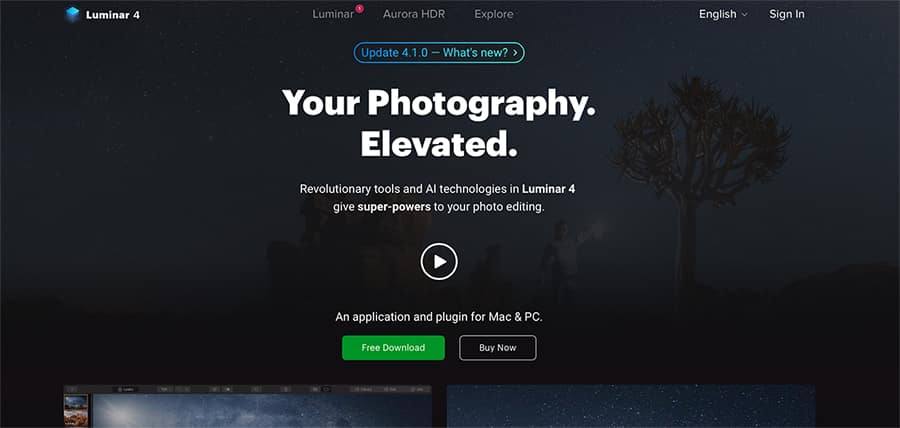 photo editor luminar is a trusted adobe photoshop alternative
