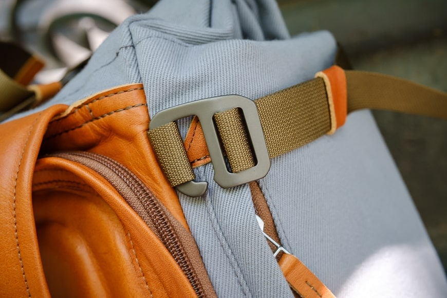 compagnon the backpack 2.0 closeup