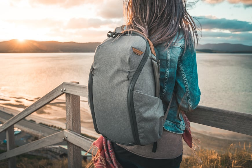 peak design everyday backpack is great to carry for travel