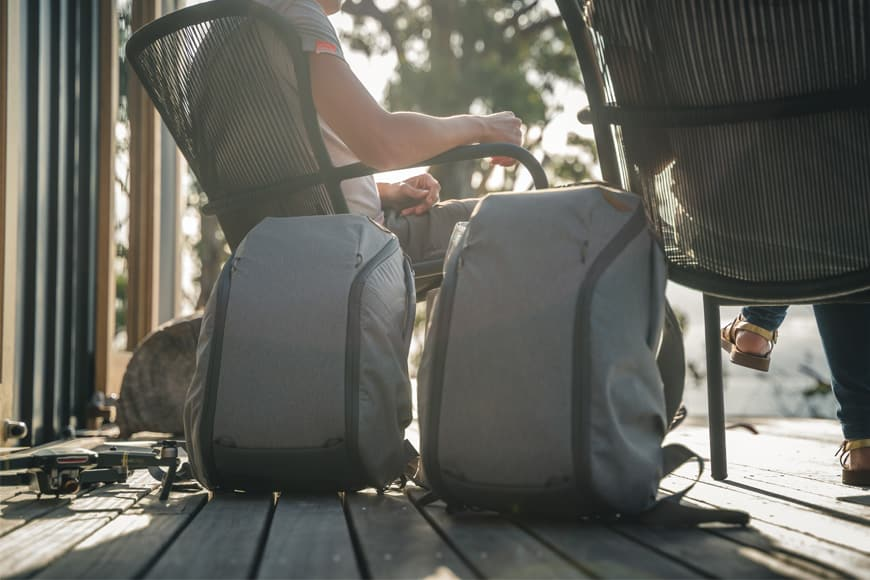 The Everyday Backpack Zip is a wonderful travel companion!