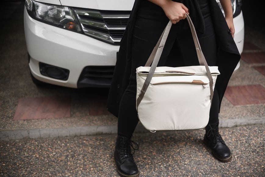 peak design everyday tote v2 review