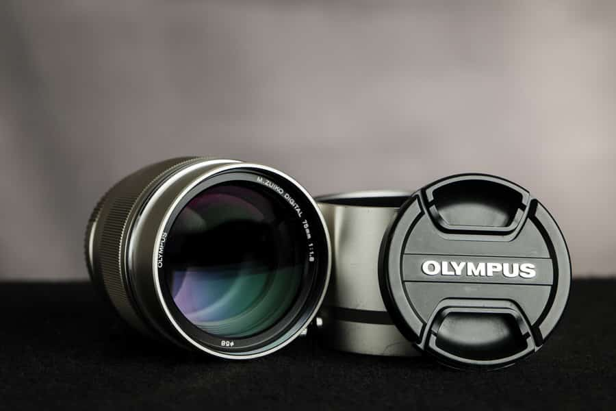 Olympus 75mm f/1.8 review