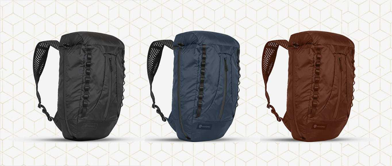 3 colors of the WANDRD Veer lightweight carry luggage