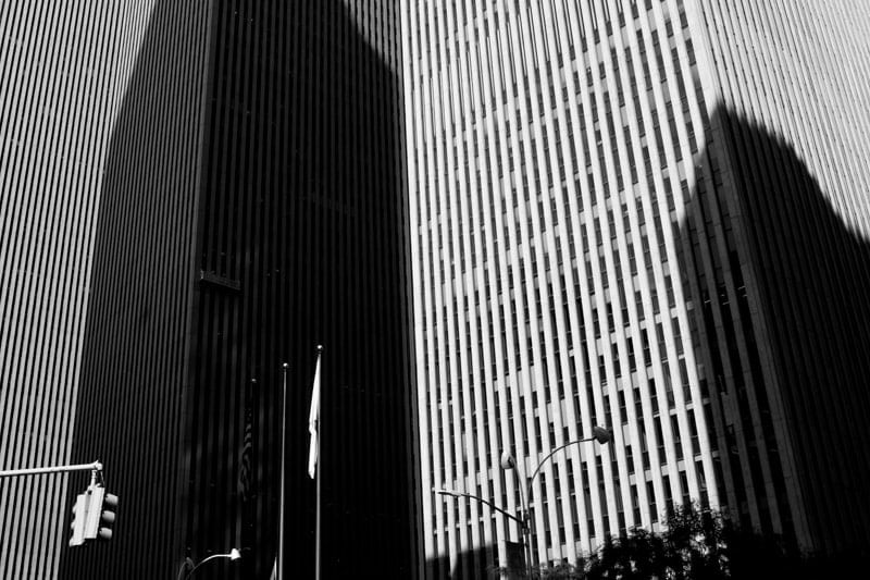 architecture is a good subject for photos in the street