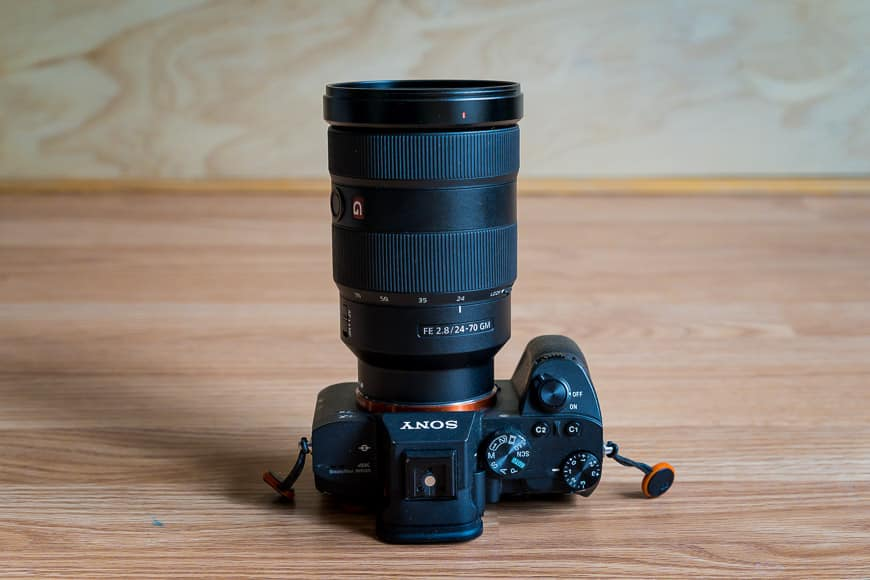 best zoom lenses for a7iii - maximum aperture f/2.8