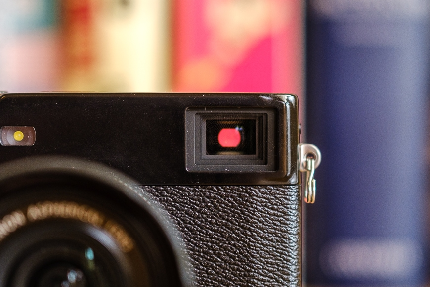 Fujifilm X-Pro3 review viewfinder