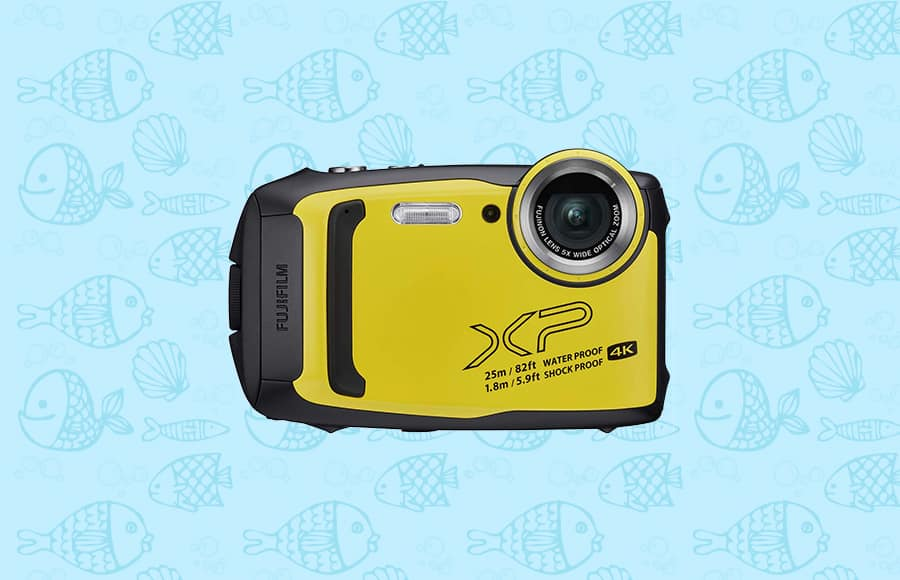 one of the best waterproof cameras with high resolution 4k video with 16.4mp sensor