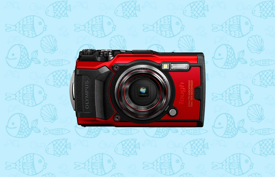 best under water camera olympus tough with fast lens and 12mp CMOS sensor