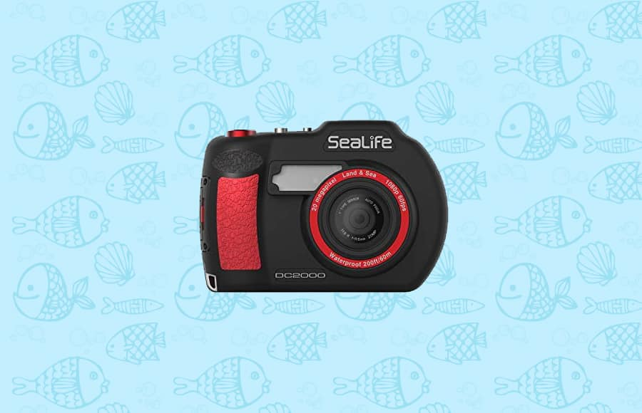 with a 20MP sensor the sealife is one of the best waterproof cameras
