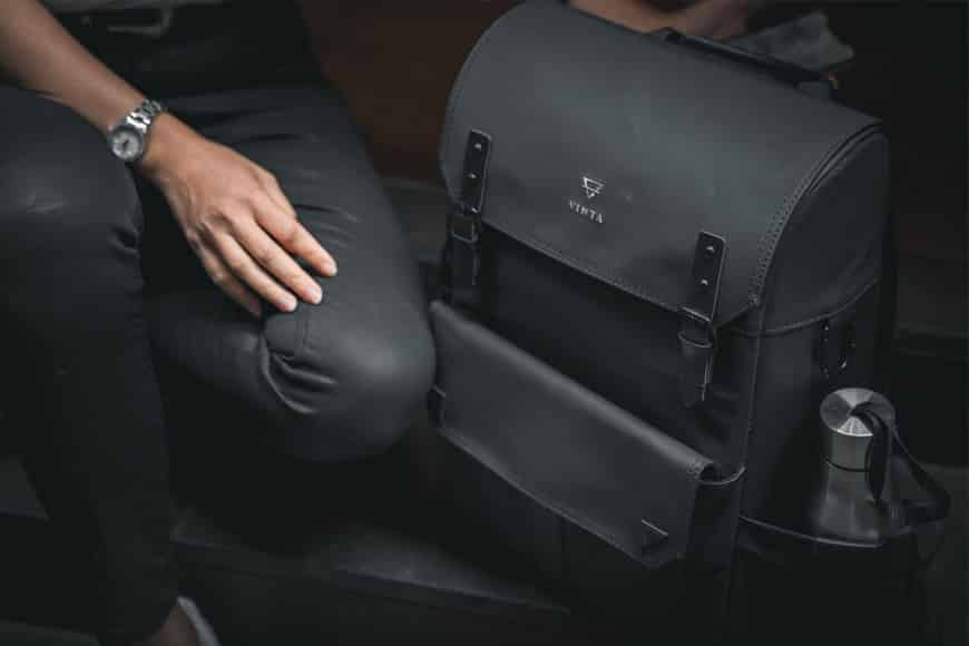 The Vinta Type-II Backpack is a beautifully designed multi-purpose bag that is both subtle and sleek.