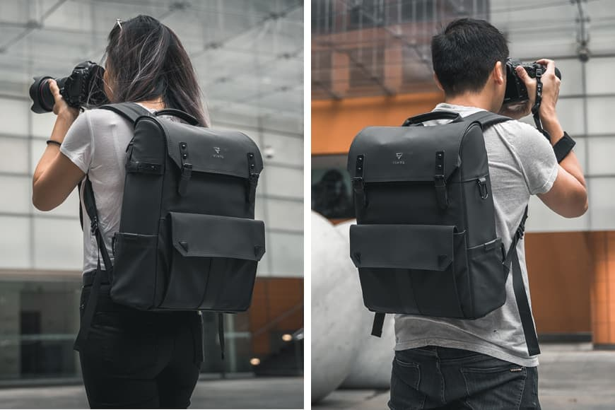 The Vinta Type-II Backpack looks great on anybody