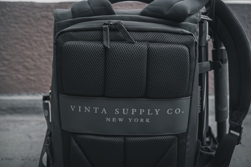 The Vinta Type-II Backpack features a lot of padding on the back