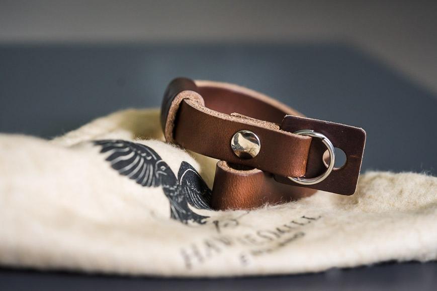 camera strap and bag