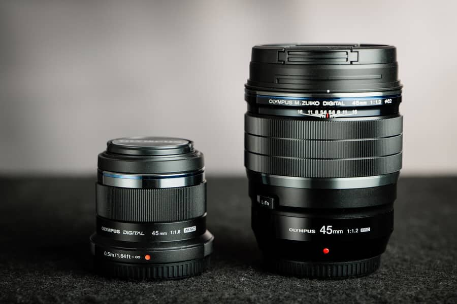 olympus 45mm f/1.8 lens review
