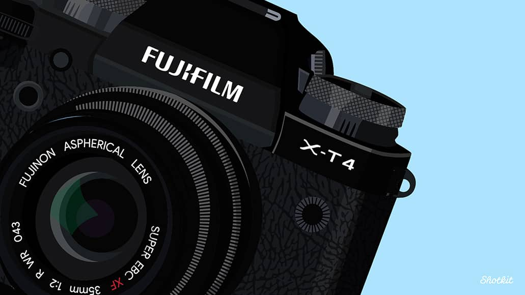 fuji x-t4 desktop wallpaper by Shotkit