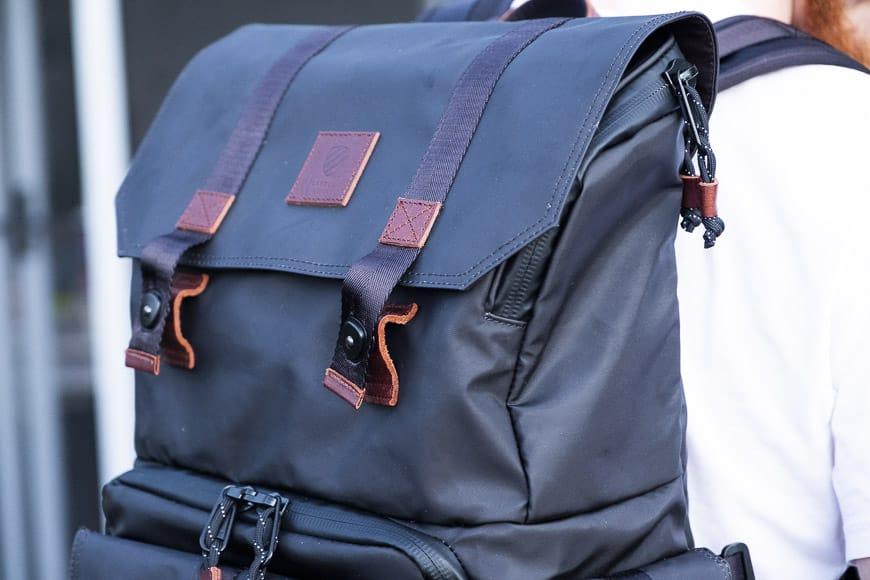 camera backpack pocket
