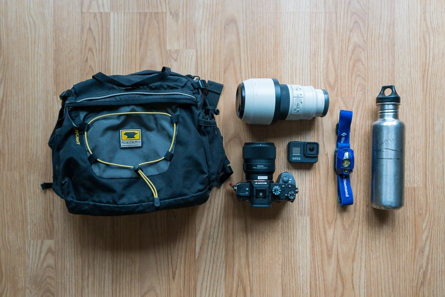 the mountainsmith daylight lumbar pack has a capacity for your essential kit