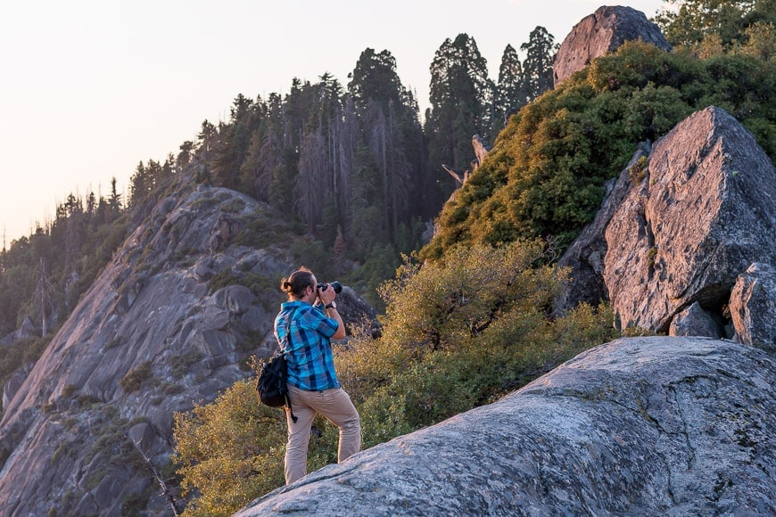 mountainsmith pack for camera carry while hiking