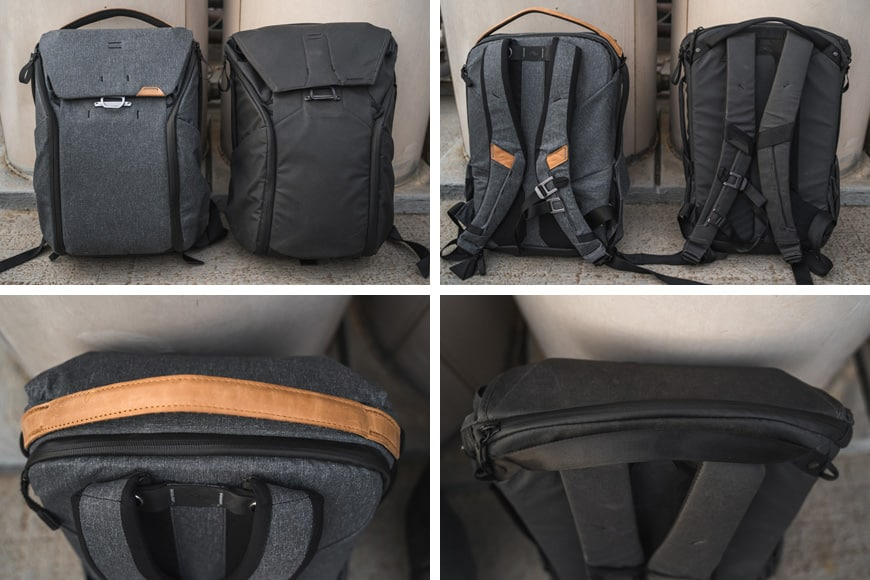 The Everyday Backpack V2 definitely has had work done to it. Not only has it had a face lift, but there are also a range of functionality changes and a few new bits added to it.