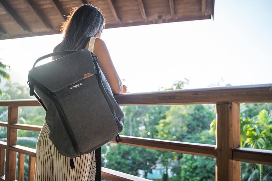 The Everyday Backpack V2 is a great looking bag for any occasion.