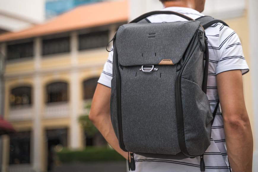 I've found that the 20L Everyday Backpack V2 is best suited to my body size and everyday carry requirements.