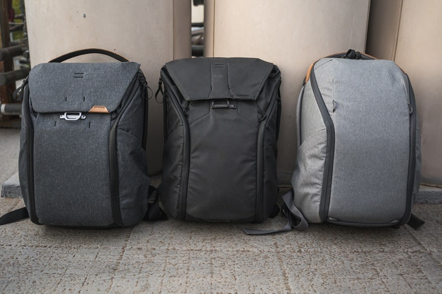 Between the three of the Peak Design 20L Everyday Backpack range, there is no wrong choice. However, one may just suit your needs better than another.