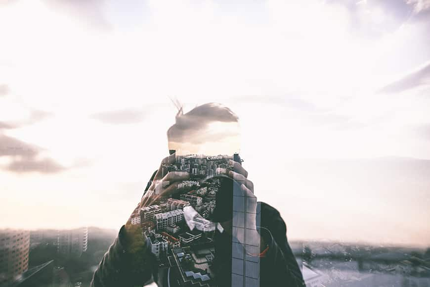 photography tips using double exposure for creative photography ideas
