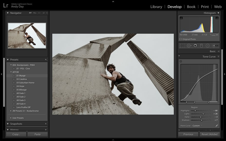 user lightroom presets for easier photo editing