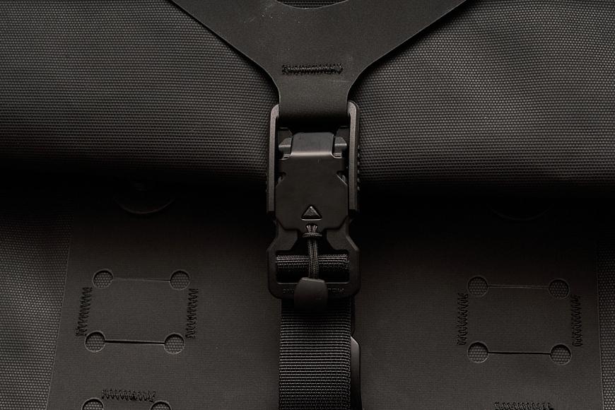 magnetic buckle detail on The Black Ember WPRT