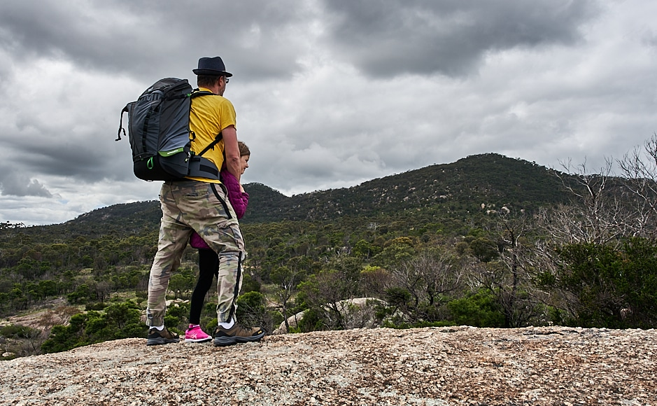 hiking with the mindshift rotation second generation backpack