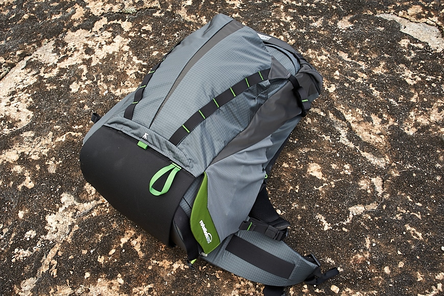 To the untrained eye, the mindshift rotation just looks like any other hiking backpack on the market.