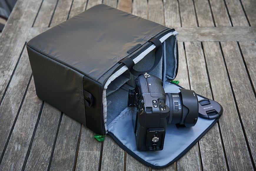 camera cube of the mindshift backpack