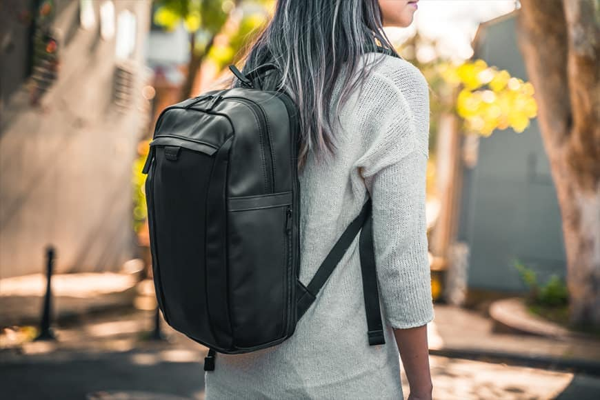 The Cecilia Humboldt 14L Backpack is a very comfortable bag and the shoulder straps support the weight nicely!