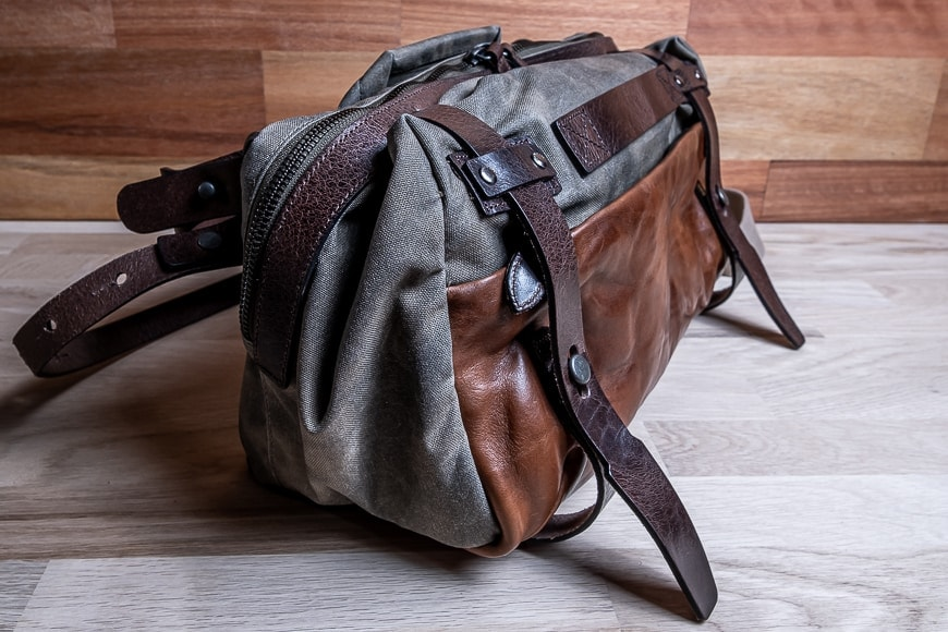 wotancraft easy rider leather camera bag