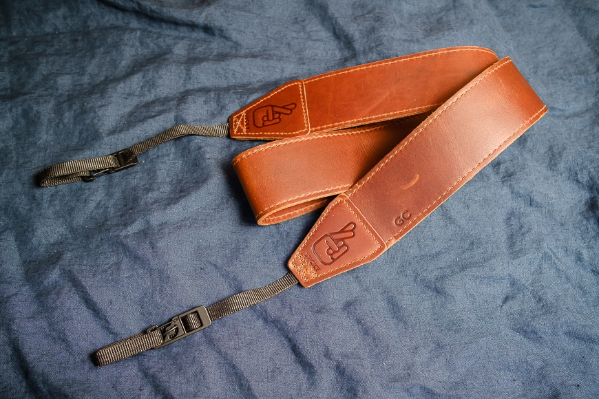 Lucky Straps soften over time plus attract weather and aging with use