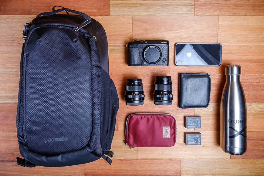 The Camsafe X9 is perfect for my street and travel kit.