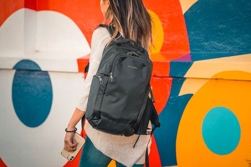 The Camsafe X17 Anti-Theft Camera Backpack does not scream for attention or look like a camera bag.