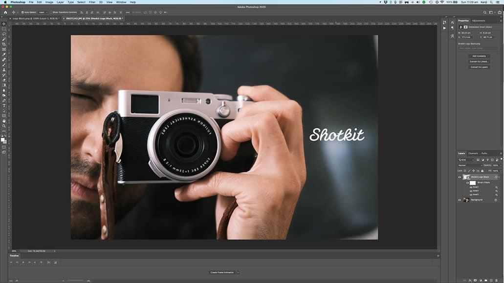 photoshop vs lightroom images