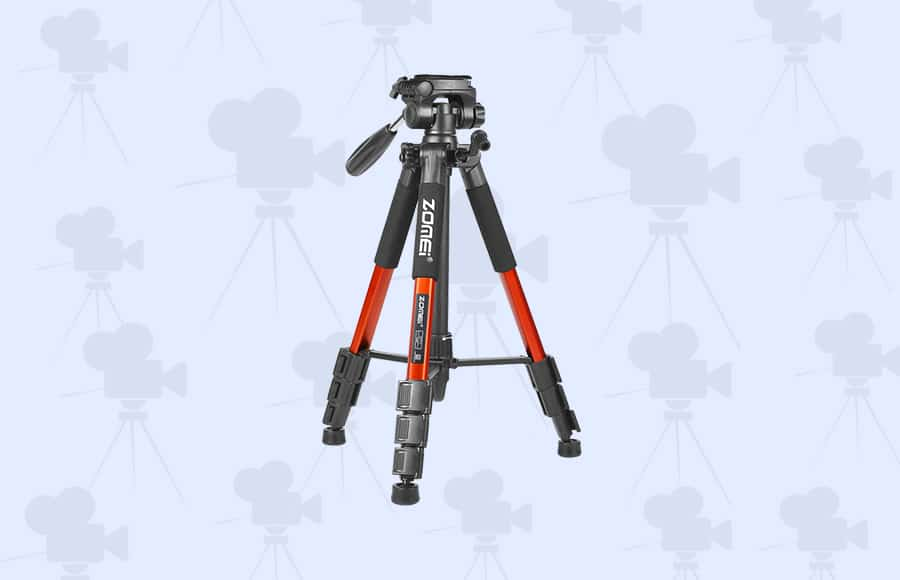 best tripods on a budget with sturdy leg sections and quick release plate - best tripods by zomei