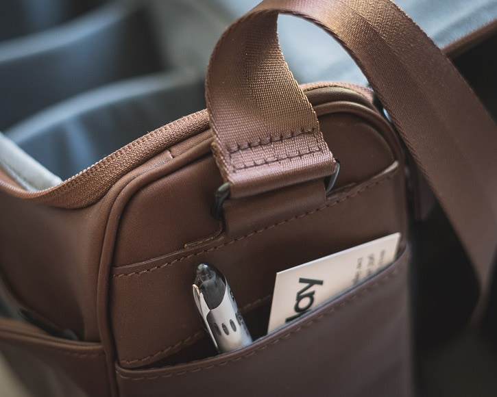 cecilia lambert messenger bag side pockets