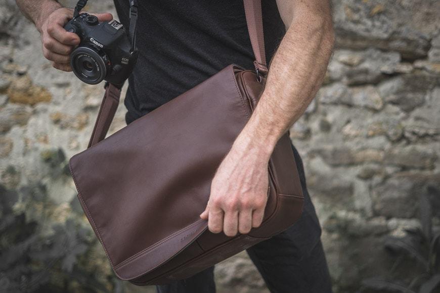 cecilia lambert messenger bag review
