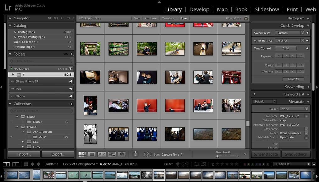 can use photoshop or photo edits in cloud using adobe lightroom cc