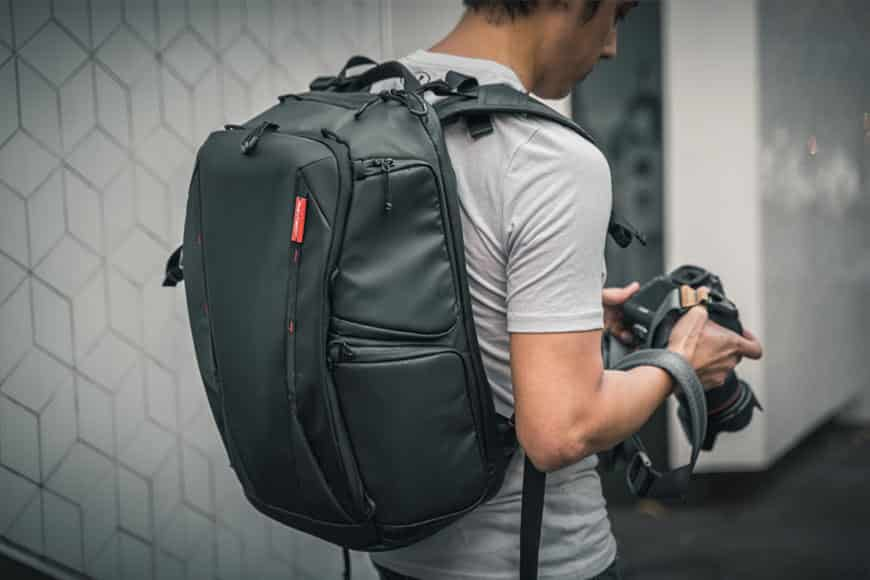 The PGYTECH OneMo Backpack is a stylish and very durable package.