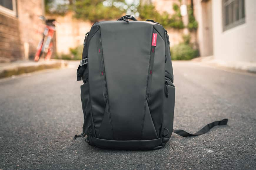 The PGYTECH OneMo Backpack is such a great package for travel and carting around gear and clothing.
