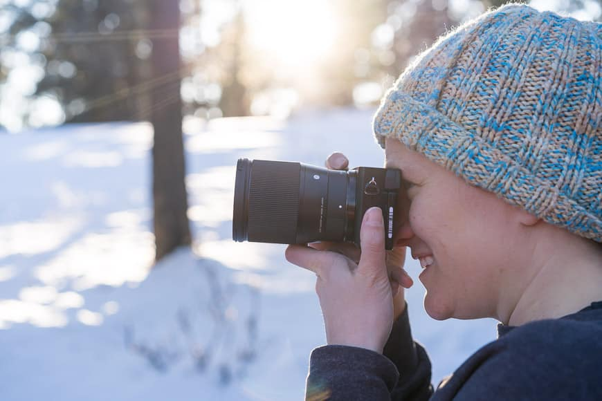shooting with the sigma 16mm f/1.4