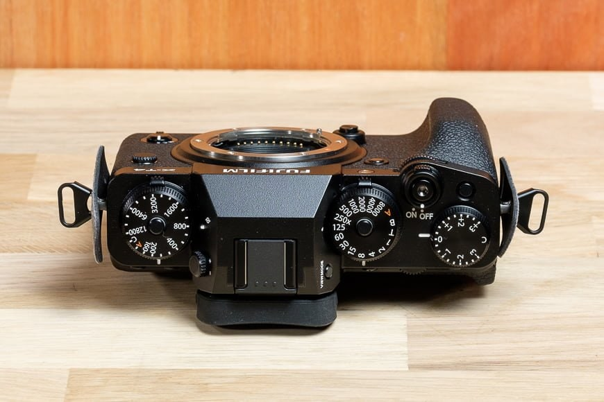 The Fujifilm X-T4 gives full manual control to all the core functions
